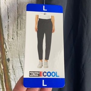 32 Degree Cool High Rise Ankle Straight Leg Pants